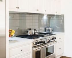 Kitchen, White, Traditional