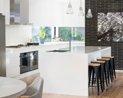 Glen Iris Modern Industrial Kitchen by Smith and Smith