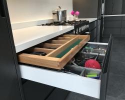 Smith & Smith Kitchens - hidden cutlery canteen