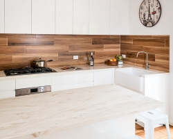 Smith & Smith Kitchens, contemporary white kitchen, photo by Tim Turner