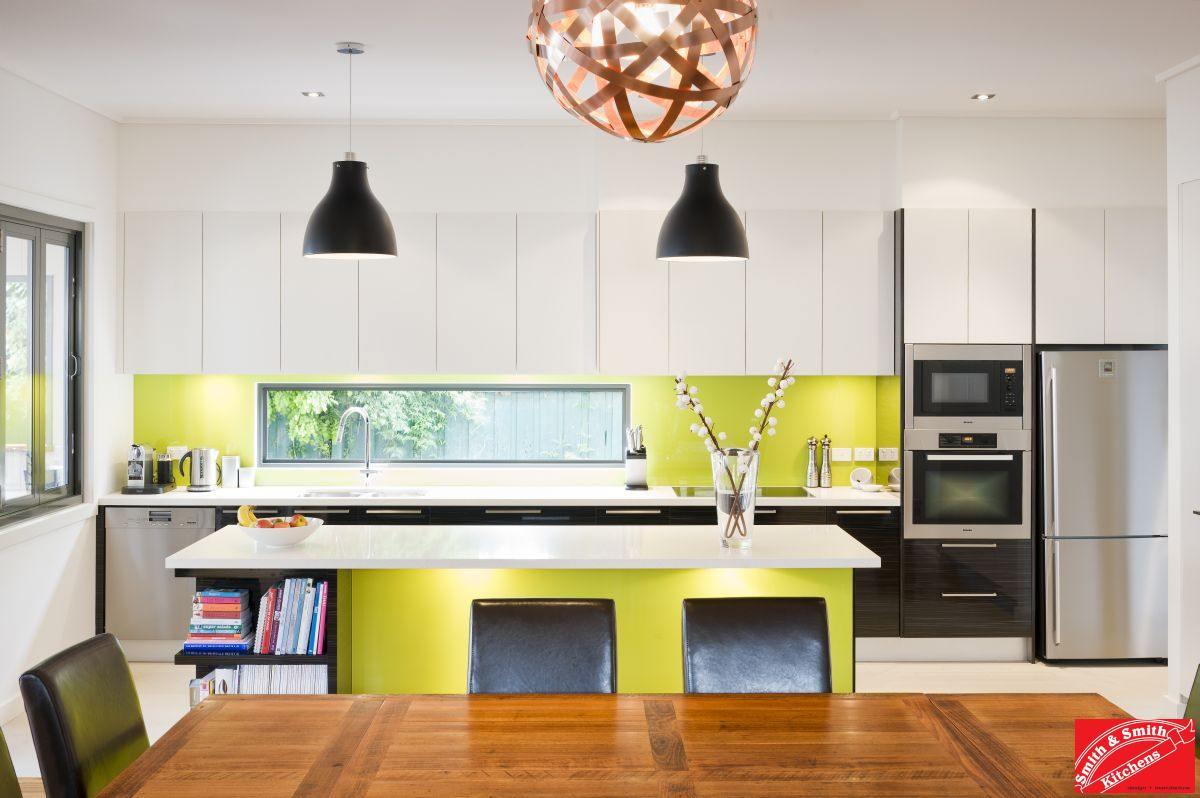 Designer Kitchen Splashbacks Fresh Contemporary Kitchen With A Retro Twist Smith Smith