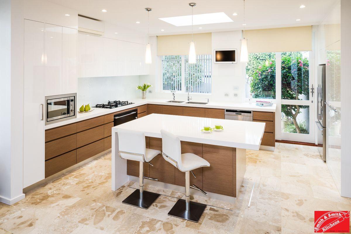 Modern Kitchen Gallery Modern White Kitchen Toorak