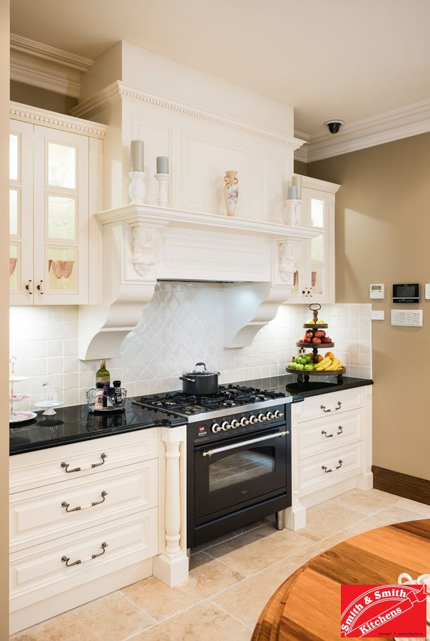 French Provincial Kitchen - half mantle