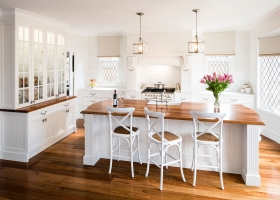 Kew East Provincial Kitchen and Traditional Cabinetry Fitout