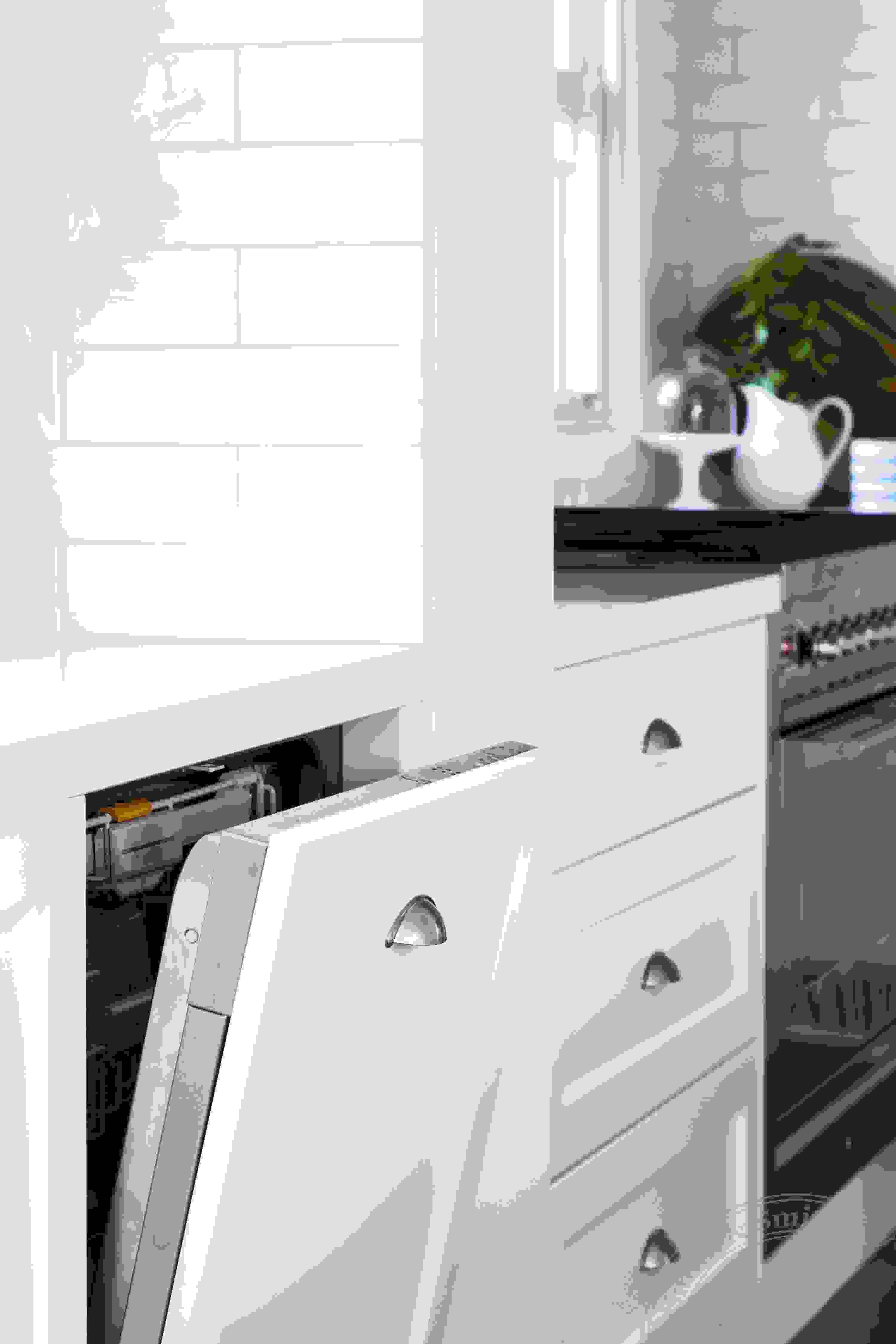 Modern White Kitchen - Toorak