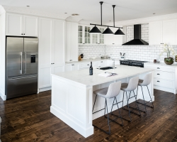 Modern Classic in Moonee Ponds - Design and Cabinetry by Smith & Smith, Photos by Tim Turner