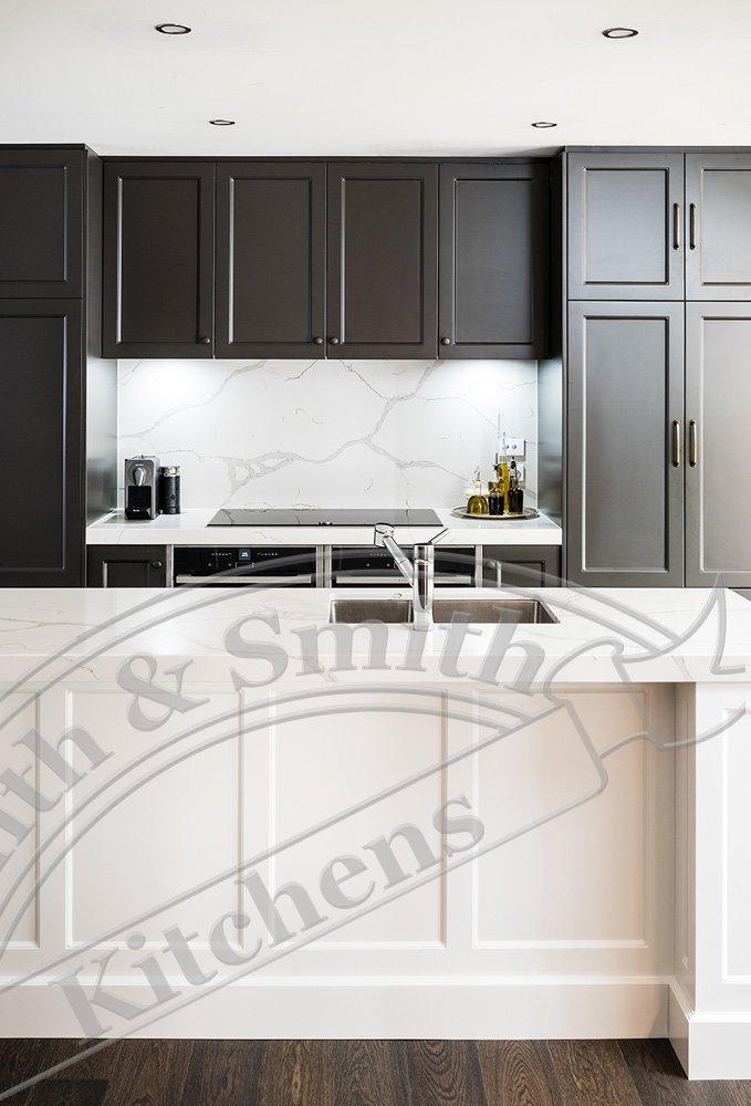 Mount Martha Hamptons Style Kitchen