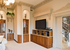 Entertainment units, wall units, wood panelling and inserts, Traralgon.