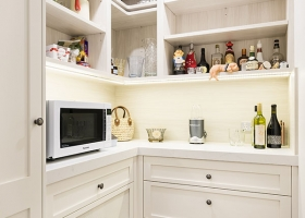 Walk in pantry, Toorak
