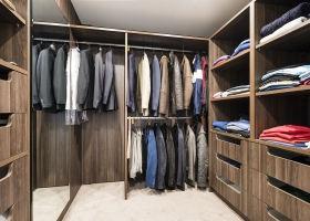 Walk in wardrobe, Toorak