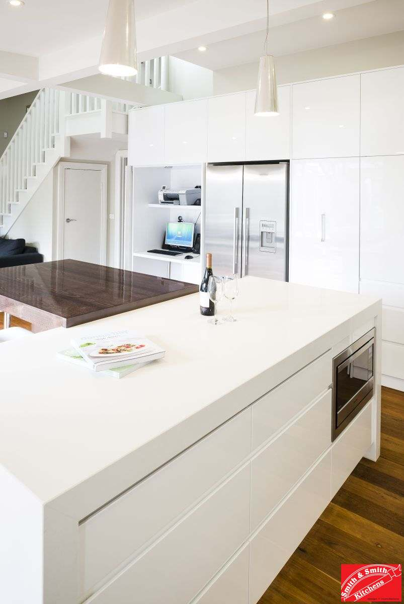 White Kitchen Cabinets Modern