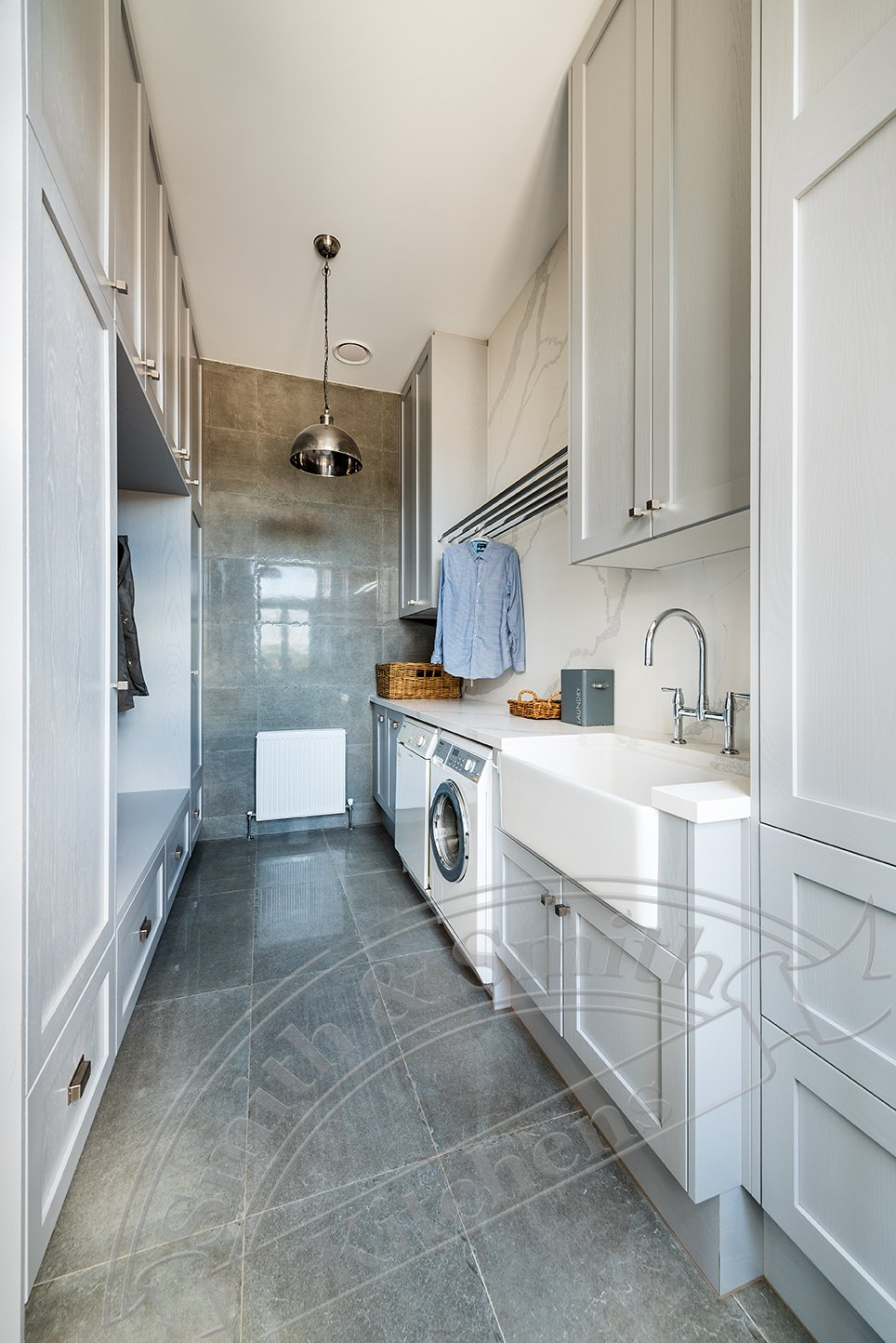 Laundry renovation - luxe