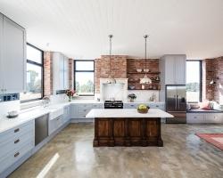 Silvan farmhouse kitchen by Smith & Smith, Photos - Tim Turner