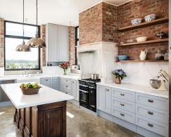 Silvan farmhouse kitchen by Smith & Smith, Photos - Tim Turner