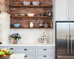 Splashback - Silvan farmhouse kitchen by Smith & Smith, Photos - Tim Turner