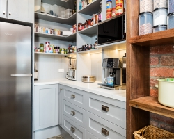 Silvan farmhouse pantry by Smith & Smith, Photos - Tim Turner