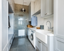 Silvan farmhouse laundry by Smith & Smith, photos - Tim Turner