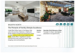 smith and smith kitchen real estate balwyn