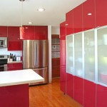 Red Kitchen Colour