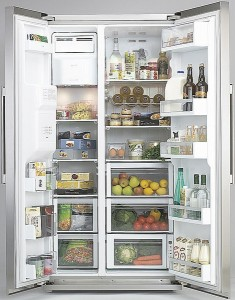 Choosing a Fridge - side by side refrigerator