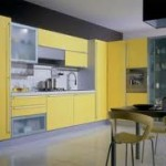yellow kitchen colours