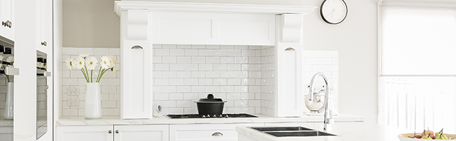 Kitchen Splashback: Tile