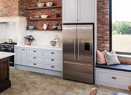Kick drawers - kitchen storage