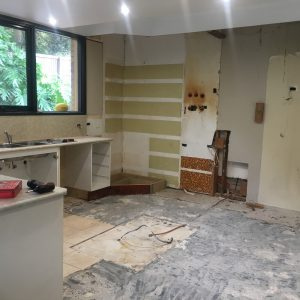 renovate versus buy - kitchen strip out