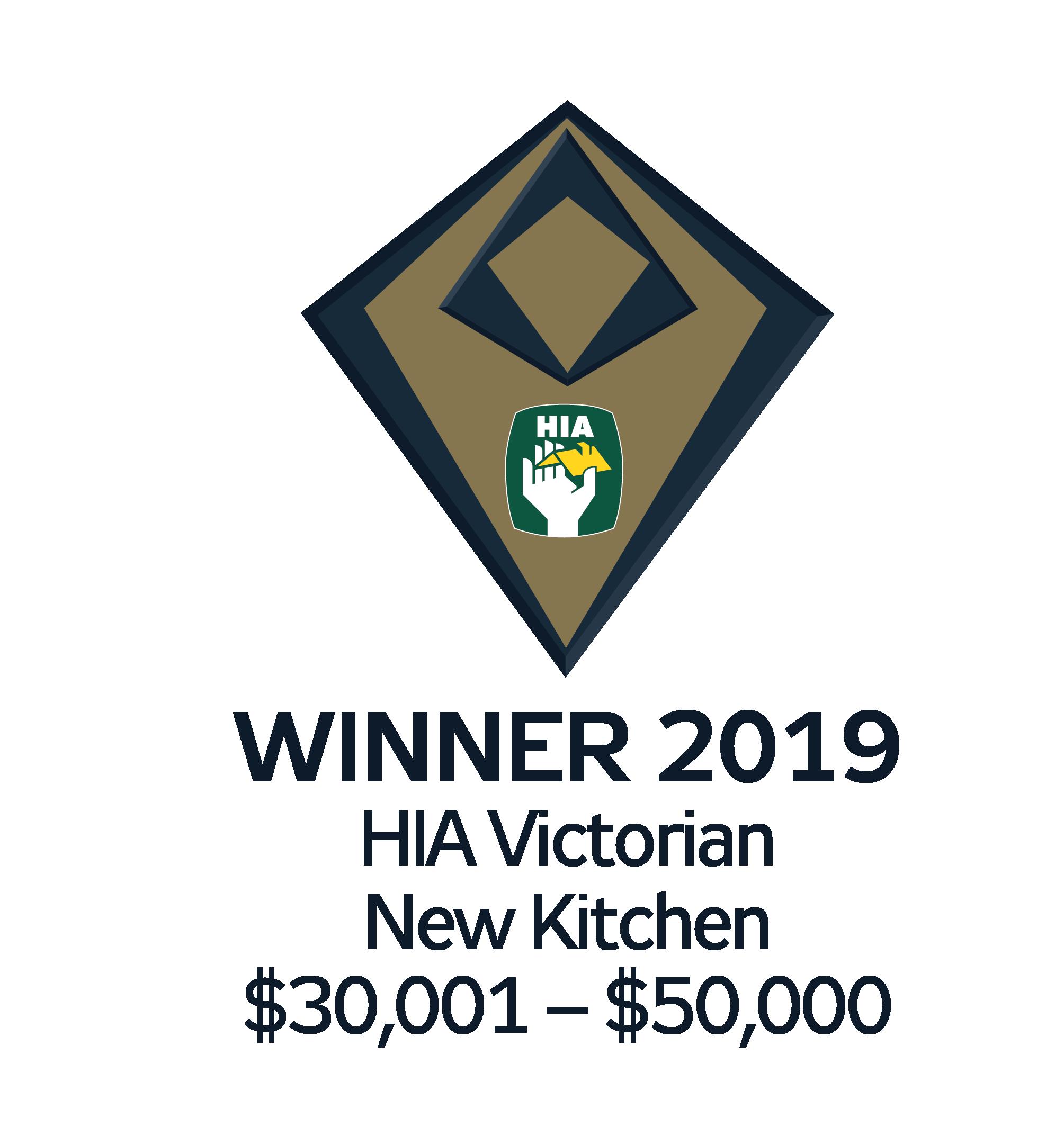 Smith and Smith Kitchens winner HIA Award