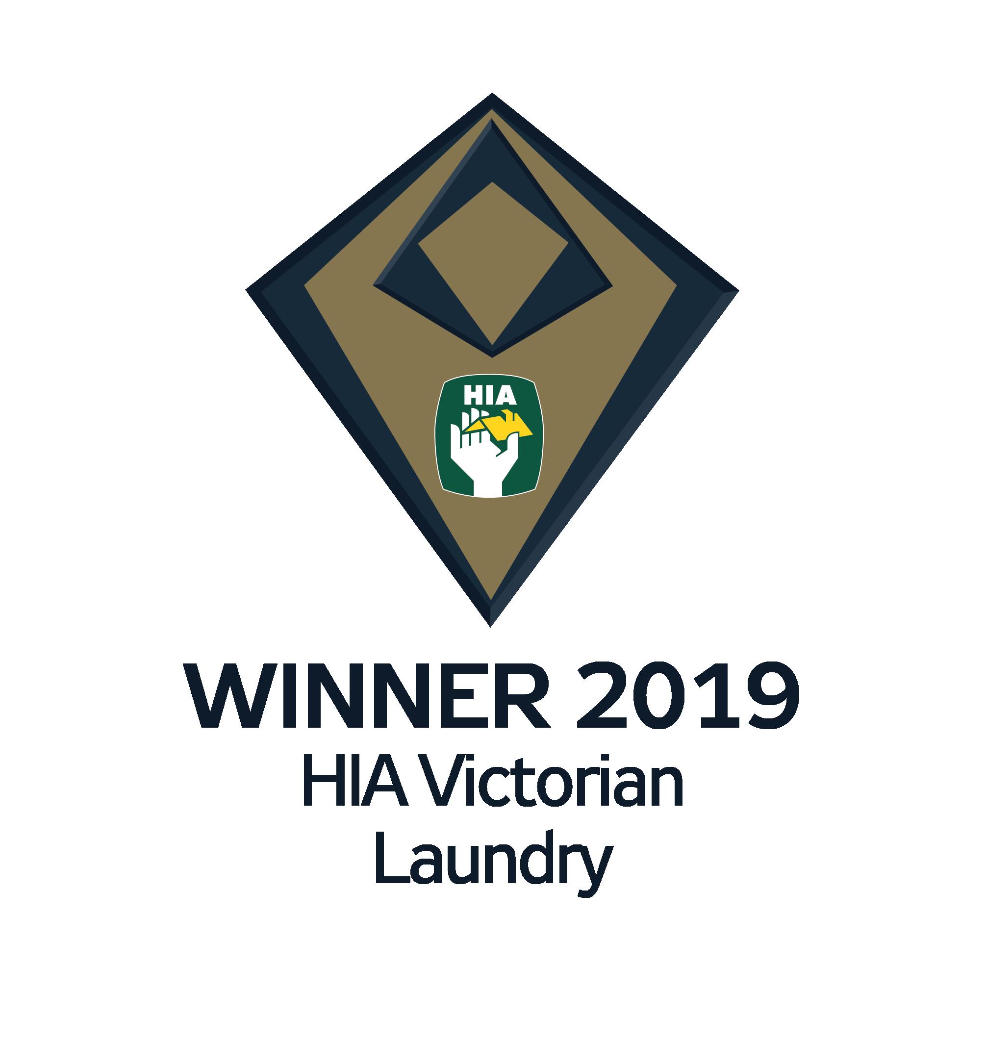 Smith and Smith Kitchens winner HIA Best Laundry Award