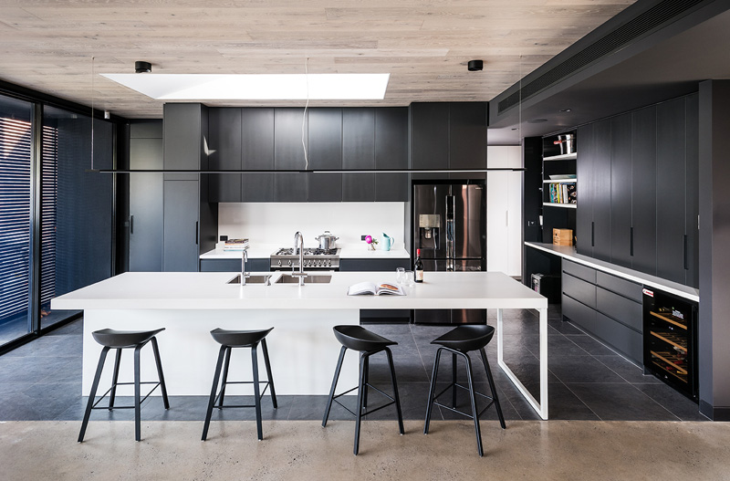 Kitchen Design Trends 2019 - Handle-less kitchen